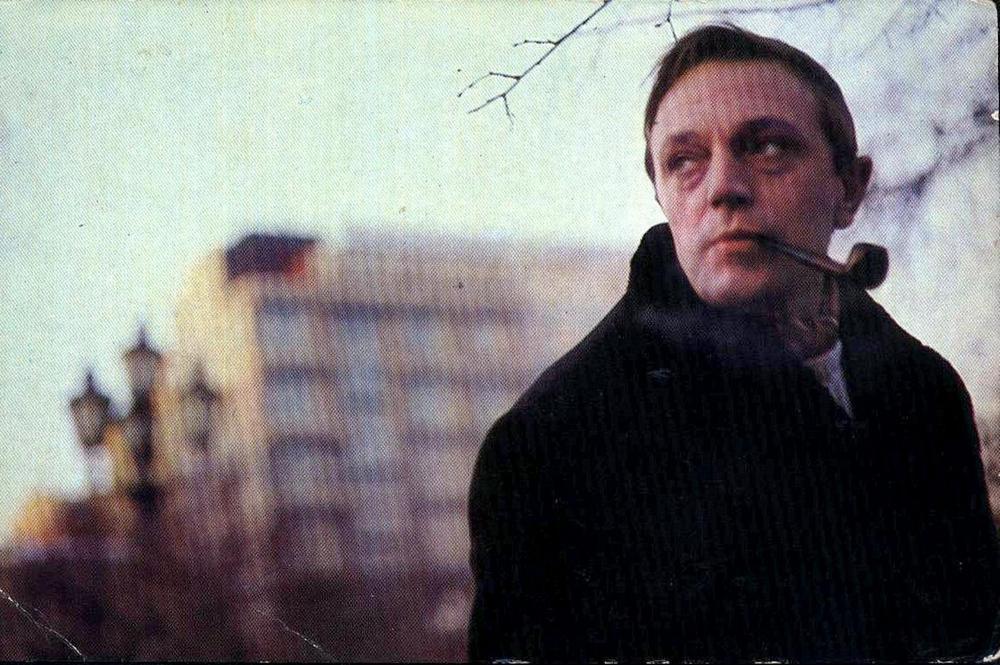 Анатолий Ромашин с трубкой
